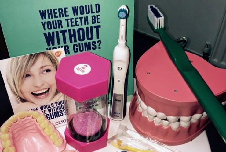 Children's Oral Hygiene at Crescent Dental Care